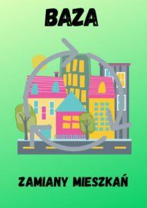 Logotyp z opisem Baza zamiany mieszkań